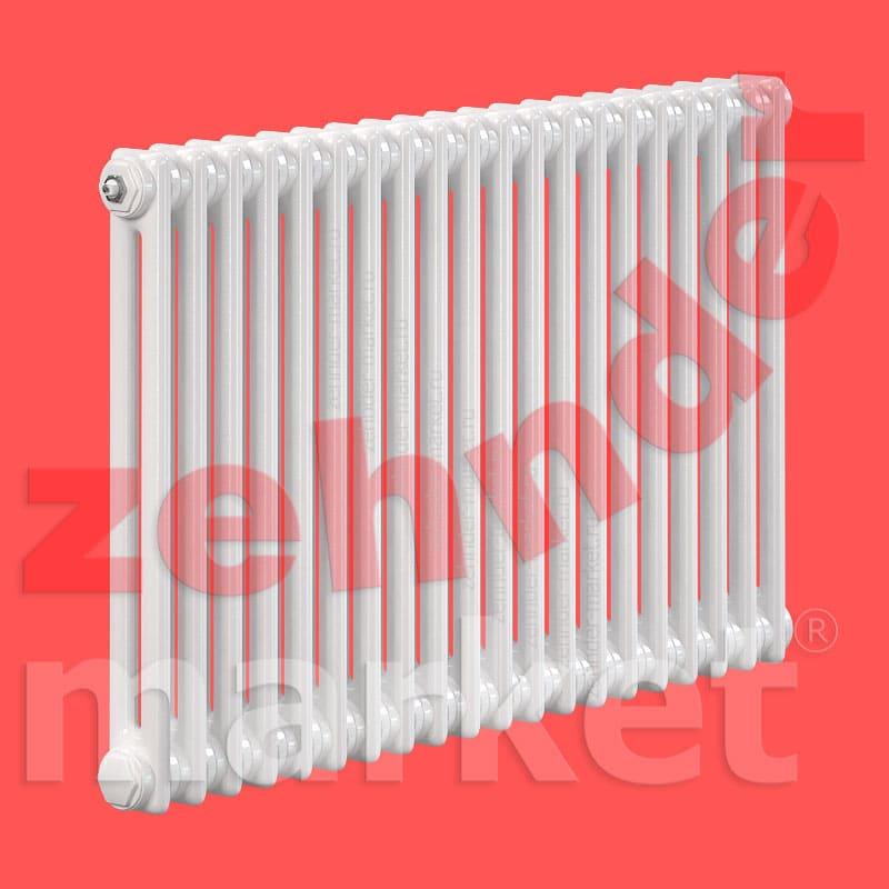 Трубчатый радиатор Zehnder Charleston 2056 / 20 секций с боковым подключением