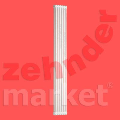 Трубчатый радиатор Zehnder Charleston 2180 / 6 секций с боковым подключением