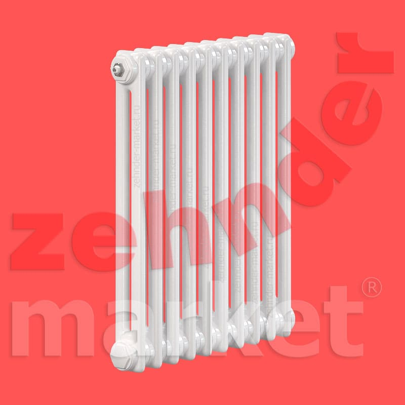 Трубчатый радиатор Zehnder Charleston Completto 2056 / 10 секций с нижним подключением