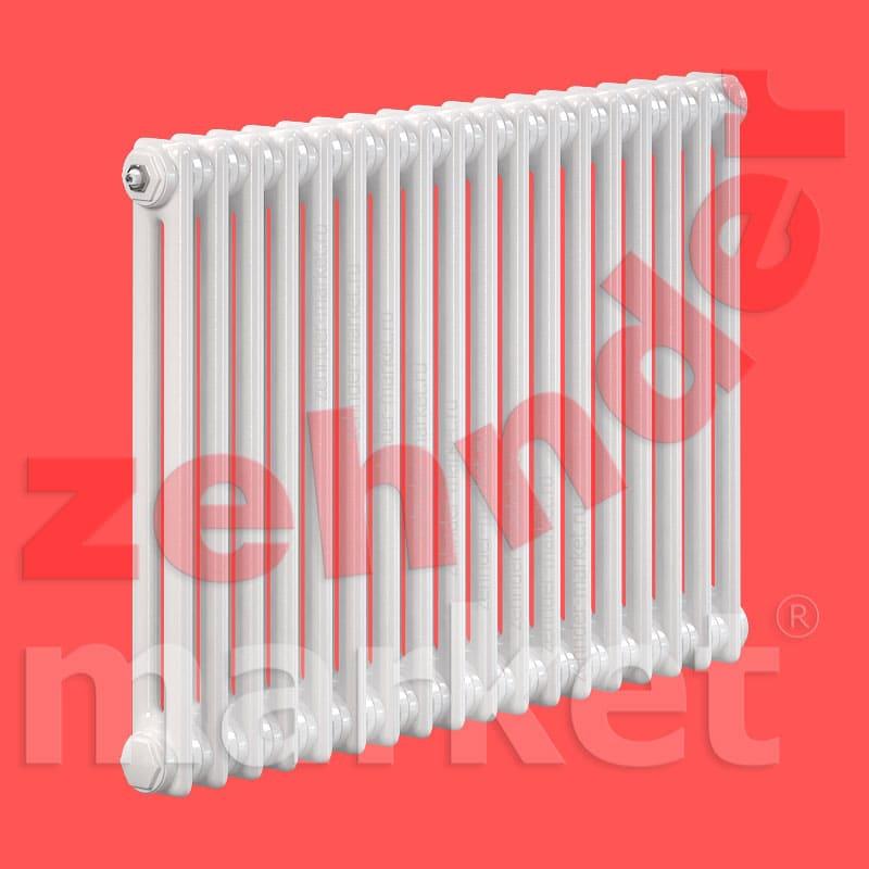 Трубчатый радиатор Zehnder Charleston Completto 2056 / 18 секций с нижним подключением